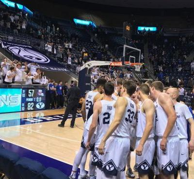 Childs' double-double helps BYU cruise past Northwestern State, 82-57