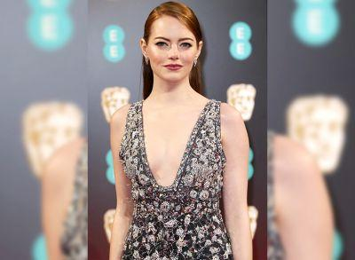 Emma Stone's Makeup Artist On Her BAFTAs Beauty Look