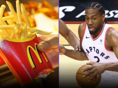The Raptors' NBA Finals run is costing McDonald's millions in french fries