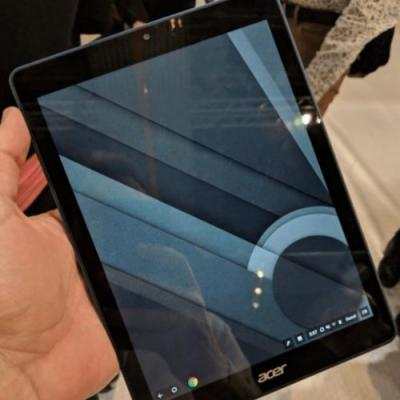 Could this be our first look at a Chrome OS-powered tablet?