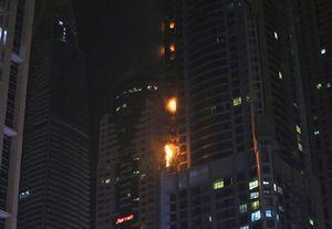 Fire put out at 86-story residential skyscraper in Dubai