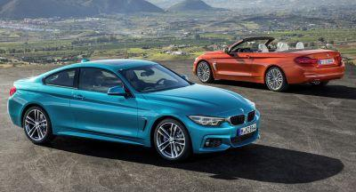 BMW Reveals Facelifted 2018 4-Series Coupe, Gran Coupe & Convertible