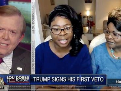 Trump Shares Video of Diamond & Silk Praising His Veto and Bashing GOP 'Swampettes' in the Senate