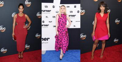 Your Favorite TV Stars Favored Bright Colors at This Week's Upfronts