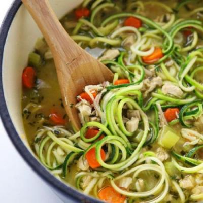 Turkey Zoodle Soup