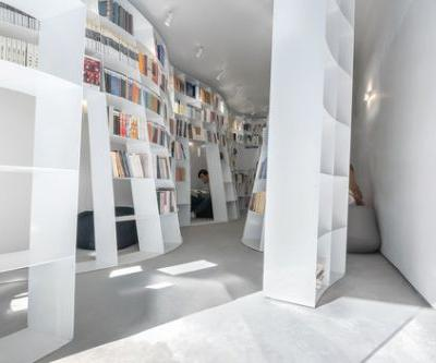 Enclave Book Pavilion / Aether Architects