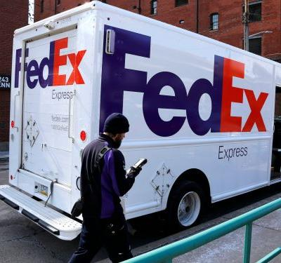 FedEx says it will no longer deliver Amazon packages with its fast shipping service