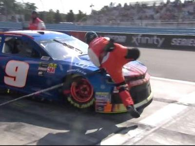 NASCAR explains why Chase Elliott wasn't penalized on last pit stop