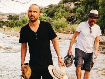 Bryan Cranston and Aaron Paul are Launching a Mezcal Line, and the Internet Has Feelings