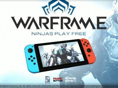 Free-To-Play Shooter Warframe Announced For Switch: Panic Button Porting
