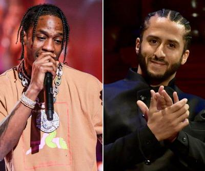 Travis Scott spoke with Kaepernick before confirming Super Bowl gig