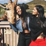 Kylie Jenner Flashes Her Tiny Baby Bump in Instagram Photo With BFF