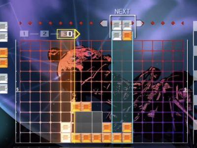 Lumines Remastered comes to Switch this spring