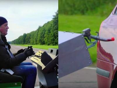 The Grand Tour's Attempt At Car-To-Car Refuelling Didn't Go So Well