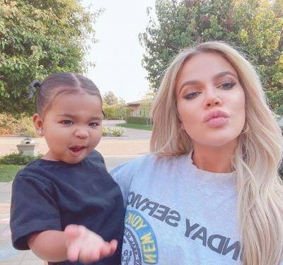 Khloé Kardashian Gushes Over Her Bread Baking 'Tradition' With Baby True and We're Emotional
