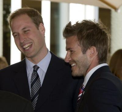 David Beckham Congratulates William And Kate on Baby No. 3 With a Cute Throwback Picture