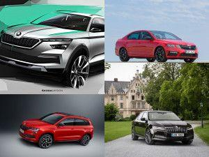 Skoda India Confirms Lineup Of SUVs And Sedans For Auto Expo 2020