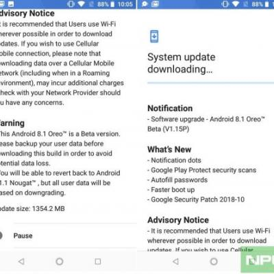 Official Nokia Security update page updated with details of available patches