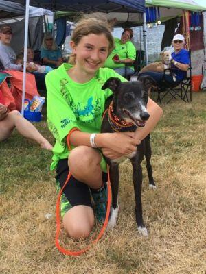 Olympia Teen and Her Dog Prepare to Defend Their Dock Dog World Championship