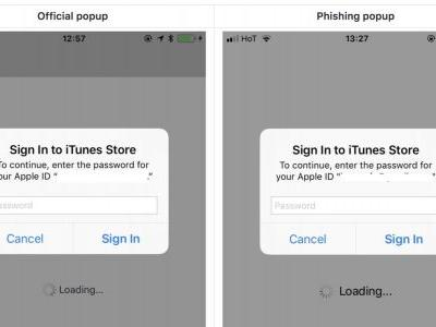 PSA: A new phishing attack could trick you into giving away your Apple ID password