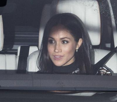 Meghan Markle Wore LIP GLOSS to Lunch With the Queen, and That Is Why We Love Her