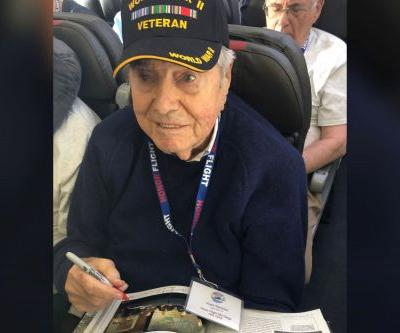 95-year-old World War II vet dies on return trip from Honor Flight