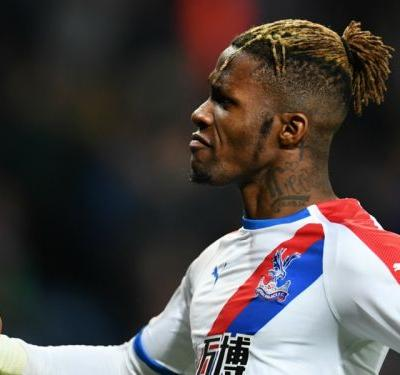 Wilfried Zaha's brace secures Crystal Palace win over Leicester City