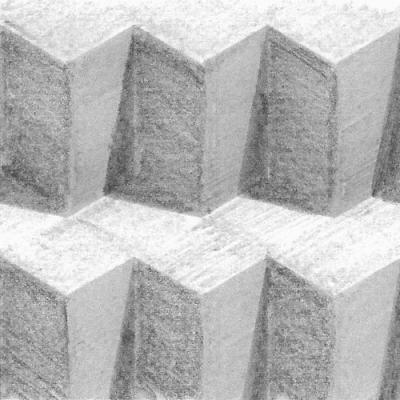 Pencil Drawn Geometric Gifs by Benjamin Zimmermann German