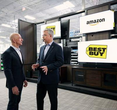 Amazon and Best Buy are partnering to sell TVs - and it shows how complicated their relationship has become