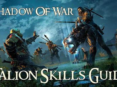Middle-Earth Shadow Of War Guide: Best Talion Skills