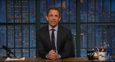 Seth Meyers describes the 'scramble' when late-breaking news throws late-night into chaos