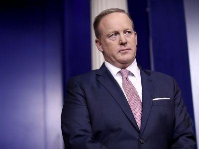 Sean Spicer is reportedly interviewing people to take his job while Trump considers a new role for him