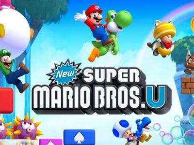 New Super Mario Bros. U Deluxe Coming to Switch in January 2019