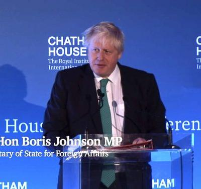 Boris Johnson says North Korea is holding a 'nuclear sword of Damocles' over a 'trembling human race'