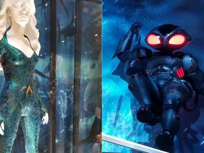 Aquaman: Black Manta & Mera Movie Costumes Revealed at Comic-Con 2018