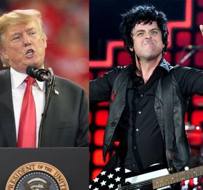 Trump's UK visit has inspired a campaign to get Green Day's 'American Idiot' trending - and, you guys, it's actually working