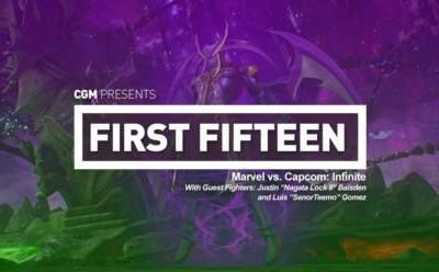 First 15: Marvel vs. Capcom: Infinite - With Nagata Lock II and SenorTeemo