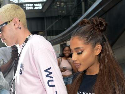 Pete Davidson Covers Up Yet Another Ariana Grande-Themed Tattoo and This Time, It Says 'Cursed'