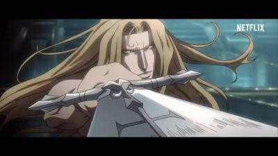 Netflix's Castlevania series looks like an anime