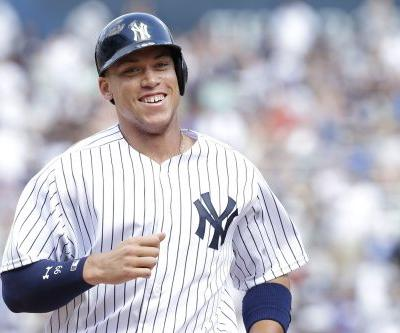 Aaron Judge's magical season capped with Rookie of the Year