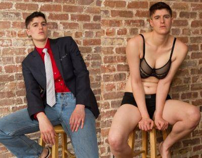 Meet the model defying gender norms by modelling both men's and women's fashion