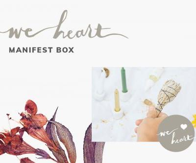We Heart: Manifest Box