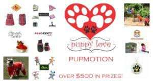 Puppy Love Valentine's Day Pupmotion: Over $500 in Prizes!