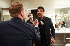 Watch James Corden Get Stuck While Dancing on the Ceiling with Lionel Richie