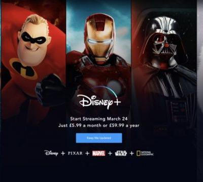 Disney+ launches in UK and Europe on March 24th 2020 confirms Disney