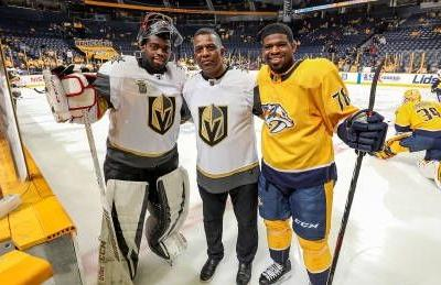 Ultimate hockey dad Karl Subban is cheering on two sons on two teams in the Stanley Cup Playoffs