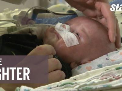 Little fighter: 4-month-old boy survives two open-heart surgeries