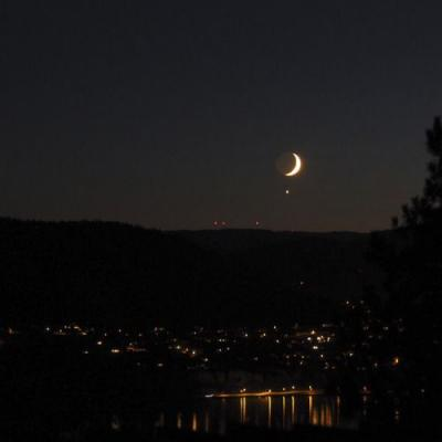 Some girls, the Moon and Venus hookup