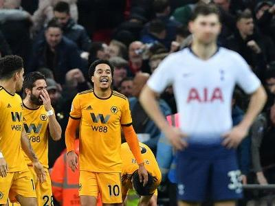 Tottenham title hopes dealt huge blow as Wolves break 39-match curse