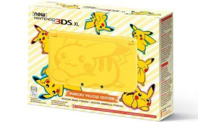 Pikachu-Inspired Nintendo New 3DS XL Available Next Month